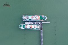 DGzRS im Yachthafen Grömitz